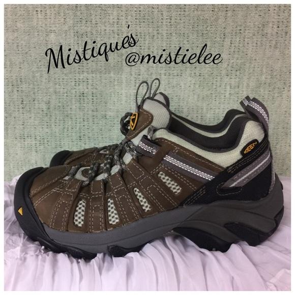 447e0da55d2 KEEN Gypsum Leather Water Proof Hiking Shoe 6M